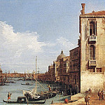 The Grand Canal from Campo S. Vio towards the Bacino, Canaletto (Giovanni Antonio Canal)