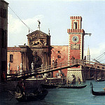 CANALETTO View Of the Entrance To The Arsenal, Canaletto (Giovanni Antonio Canal)