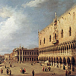 View of the Ducal Palace, Canaletto (Giovanni Antonio Canal)