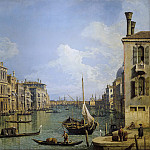 View of the Grand Canal, Canaletto (Giovanni Antonio Canal)