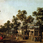 Canal Giovanni Antonio View Of The Grand Walk vauxhall Gardens With The Orchestra Pavilion, Том Холл