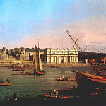 Greenwich Hospital From The North Bank Of The Thames, Canaletto (Giovanni Antonio Canal)