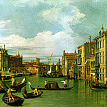 Canaletto The Grand Canal and the Church of the Salute, Canaletto (Giovanni Antonio Canal)