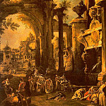 An Allegorical Painting of the Tomb of Lord Somers, Canaletto (Giovanni Antonio Canal)