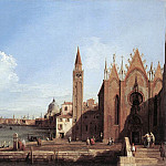 Grand Canal From Santa Maria Della Carita To The Bacino Di San Marco, Canaletto (Giovanni Antonio Canal)