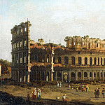 The Colosseum, Canaletto (Giovanni Antonio Canal)