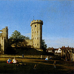 The Eastern Facade Of Warwick Castle, Canaletto (Giovanni Antonio Canal)