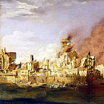 Martens, Dietl. Fire in Hamburg, May 5, 1842, part 08 Hermitage