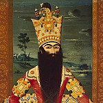 part 08 Hermitage - Mihr Ali. Portrait of a seated Fath Ali Shah