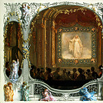 part 08 Hermitage - Menzel, Adolf von. Holiday in the New Palace Theatre. 1829