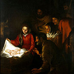Murillo, Bartolome Esteban. Adoration of the Shepherds, part 08 Hermitage