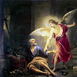 Murillo, Bartolome Esteban. When the apostle Peter from prison, part 08 Hermitage