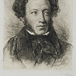 part 08 Hermitage - Mate, Vasily. Portrait of Alexander Pushkin