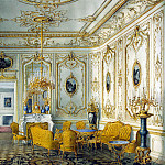 Meyblyum, Jules. Palace of Count PS Stroganov. Yellow room, part 08 Hermitage