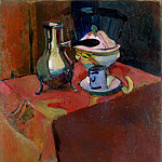 Matisse, Henry. Dishes on table, part 08 Hermitage