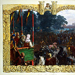Menzel, Adolf von. Tournament in Magdeburg in 928, part 08 Hermitage