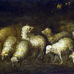 Murillo, Bartolome Esteban. Sheep at Watering, part 08 Hermitage