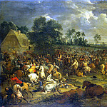 Meulen, Adam Franz van der. Battle, part 08 Hermitage
