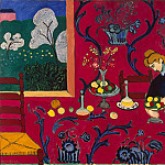 Matisse, Henry. Red Room, part 08 Hermitage