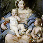 Maratti, Carlo. Madonna and Child with John the Baptist, Carlo Maratti