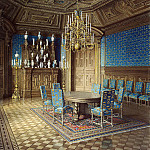 part 08 Hermitage - Meyblyum, Jules. Palace of Count PS Stroganov. Canteen