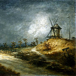 Michel, Georges. Landscape with a Mill, part 08 Hermitage
