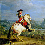 Meulen, Adam Franz van der. Louis XIV during the capture of Besançon, Adam Frans Van der Meulen