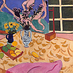 Matisse, Henry. Fruits, flowers and panels Dance, part 08 Hermitage