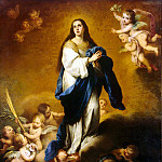 Murillo, Bartolome Esteban. Immaculate Conception , part 08 Hermitage