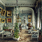 part 08 Hermitage - Meyblyum, Jules. Palace of Count PS Stroganov. Boudoir