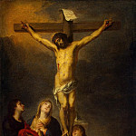 Murillo, Bartolome Esteban. Crucifix, part 08 Hermitage