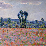 Monet, Claude. Field of poppies, Claude Oscar Monet