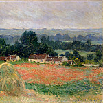 Monet, Claude. Haystacks at Giverny, Claude Oscar Monet