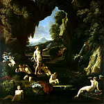 part 08 Hermitage - Maratti, Carlo Dughet, Gaspar. Landscape with Diana and Actaeon