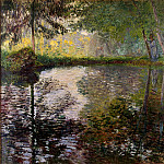Monet, Claude. Pond at Montgeron, Claude Oscar Monet