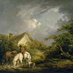 part 08 Hermitage - Morland, George. Approaching storm
