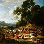 Meulen, Adam Franz van der. Journey of Louis XIV, part 08 Hermitage