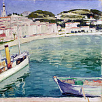 part 08 Hermitage - Marc Albert. Harbour at Menton