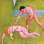 Matisse, Henry. Nymph and Satyr, part 08 Hermitage