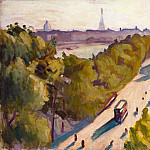 part 08 Hermitage - Marquet, Albert. Embankment of the Louvre, the summer