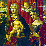 part 08 Hermitage - Mansueti, Giovanni di Niccolo. Madonna and Child with St. John the Evangelist and an unknown saint