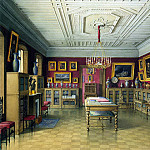 Meyblyum, Jules. Palace of Count PS Stroganov. Library, part 08 Hermitage