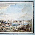 part 08 Hermitage - Martin Johann Fredrik. Stockholm. View of the Baltic Sea from the Customs Dunwick