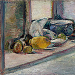 Matisse, Henry. Blue Pot and Lemon, Henri Matisse