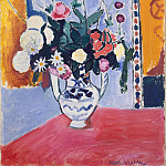 Matisse, Henry. Bouquet, part 08 Hermitage