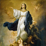 Murillo, Bartolome Esteban. Immaculate conception, part 08 Hermitage