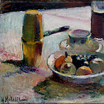 Matisse, Henry. Fruit and coffee pot, part 08 Hermitage