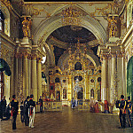 part 02 Hermitage - Vasiliev, Timothy A. - Internal view of the Great Church of the Winter Palace