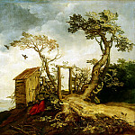 part 02 Hermitage - Bloemaert, Abraham - Landscape with the Prophet Elijah