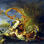 part 02 Hermitage - Vanloo, Jean-Baptiste - The Triumph of Galatea